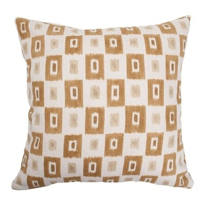 Dagwood Box Throw Pillow Color: Dessert, Size: 18 x 18