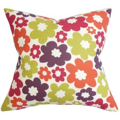 Quilla Floral Bedding Sham Size: Queen