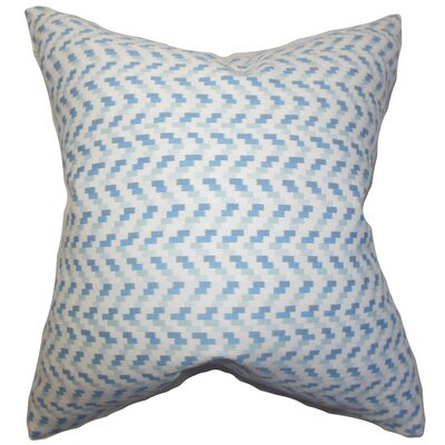 Varsha Geometric Cotton Throw Pillow Size: 18 x18