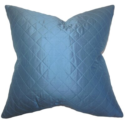 Lexis Solid Silk Throw Pillow Size: 24 x 24