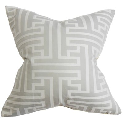 Roscoe Geometric Throw Pillow Size: 24 x 24