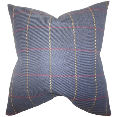 Buntin Plaid Bedding Sham Size: Standard