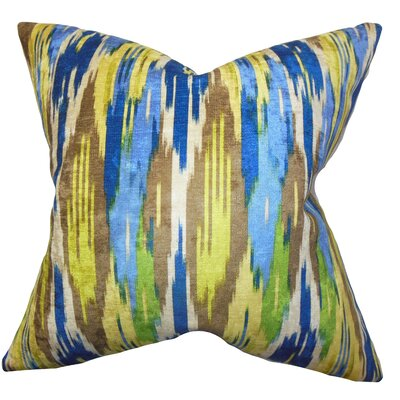 Ulyanka Geometric Cotton Throw Pillow Cover