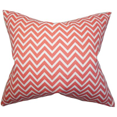 Xayabury Zigzag Cotton Throw Pillow Size: 20 x 20