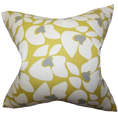 Buitron Geometric Cotton Throw Pillow Color: Summerland, Size: 24 x 24