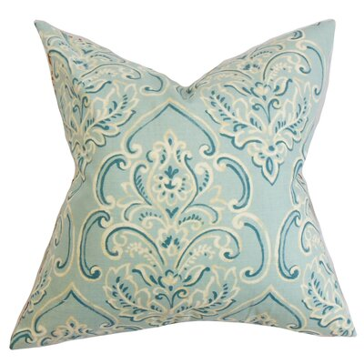 Chancellor Floral Throw Pillow Color: Baby Blue, Size: 22 x 22