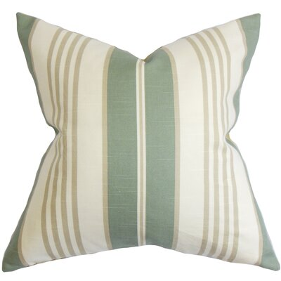 Vigee Stripes Bedding Sham Size: Euro, Color: Blue