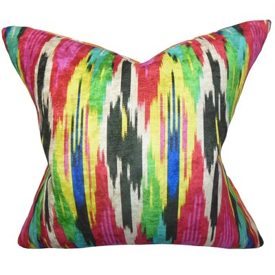 Ulyanka Geometric Throw Pillow Color: Jewel, Size: 18 H x 18 W