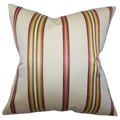 Hatsy Stripes Throw Pillow Size: 24 x 24