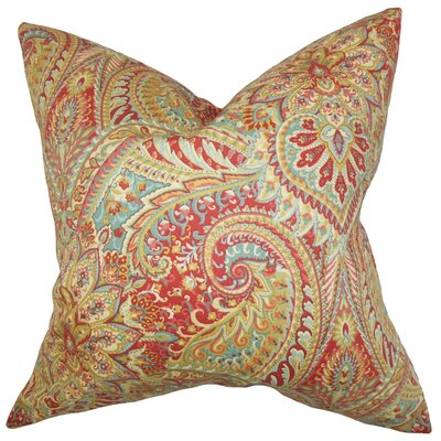 Katell Floral Cotton Throw Pillow