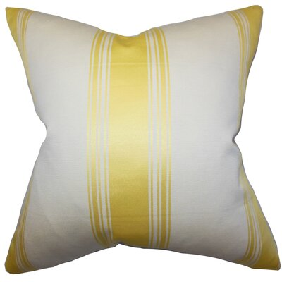 Jaleesa Stripes Throw Pillow Size: 18 x 18