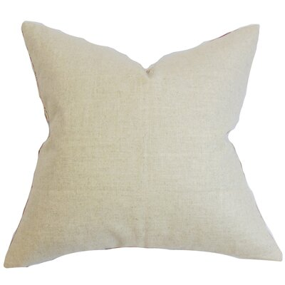 Yaretzi Solid Throw Pillow Cover Color: Neutral