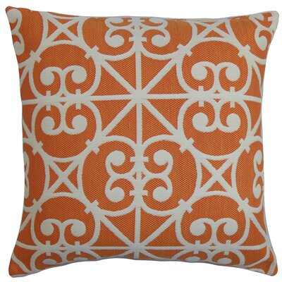 Quiteria Geometric Outdoor Throw Pillow Size: 18x18