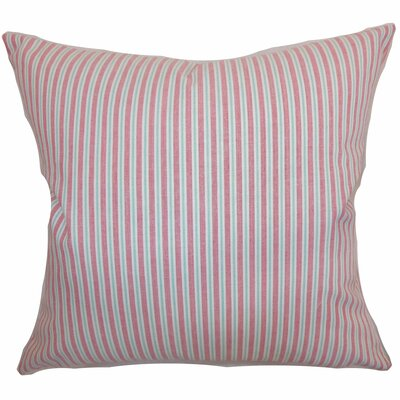 Debrah Stripes Bedding Sham Size: Euro