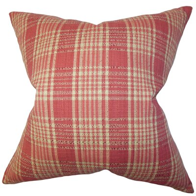 Indre Plaid Bedding Sham Size: King