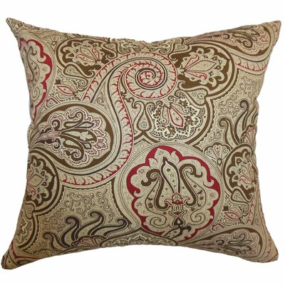 Xandraya Paisley Cotton Throw Pillow Cover