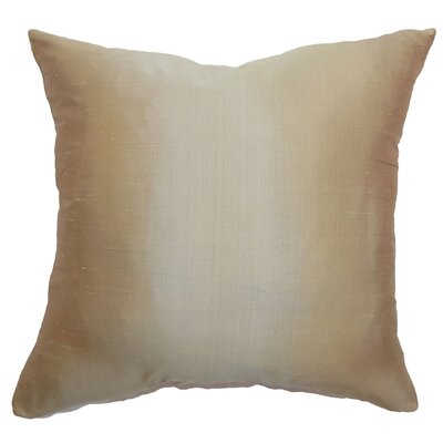 Salona Solid Cotton Throw Pillow Cover