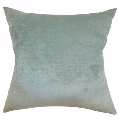 Haye Solid Silk Throw Pillow Cover