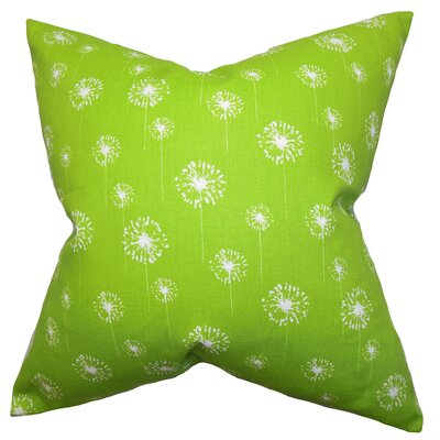 Joop Floral Bedding Sham Color: Green, Size: Standard