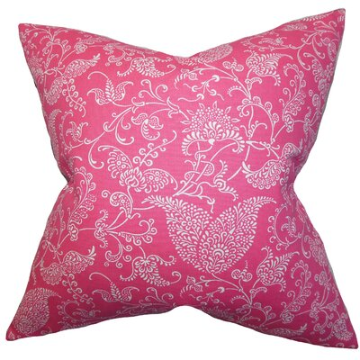 Aderyn Paisley Cotton Throw Pillow Cover