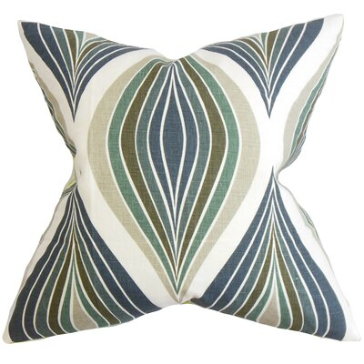 Carlow Geometric Cotton Throw Pillow Cover