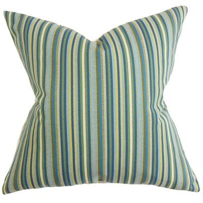 Dafydd Stripes Throw Pillow Size: 24 x 24