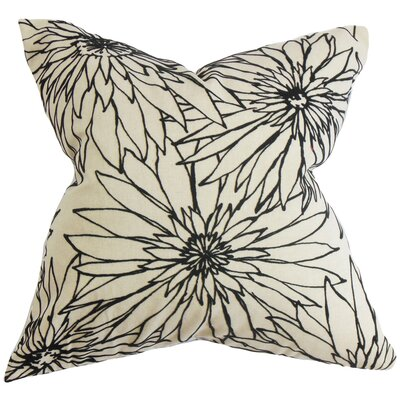 Phedora Floral Throw Pillow Size: 24 x 24
