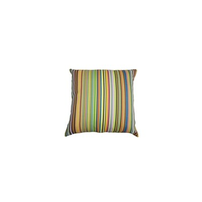 Kaili Stripes Outdoor ThrowPillow Size: 18 x 18