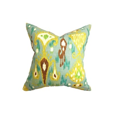 Hartigan Ikat Throw Pillow Size: 22 x 22