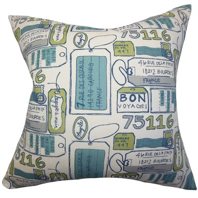 Reginy Typography Bedding Sham Size: Queen
