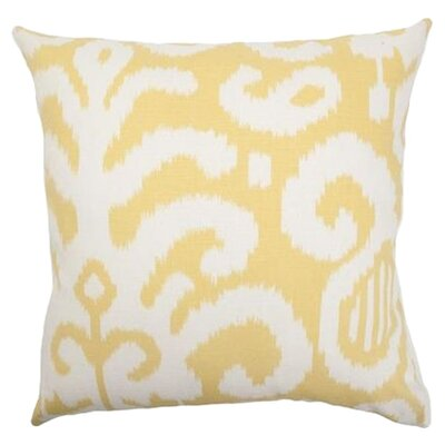 Teora Throw Pillow Color: Citrus, Size: 24 x 24