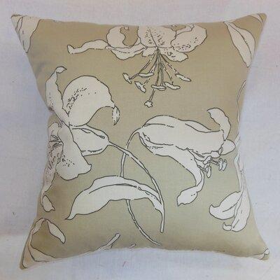 Elorza Floral Cotton Throw Pillow Size: 18x18