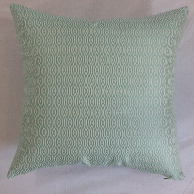 Whitney Geometric Cotton Throw Pillow Size: 22 x 22