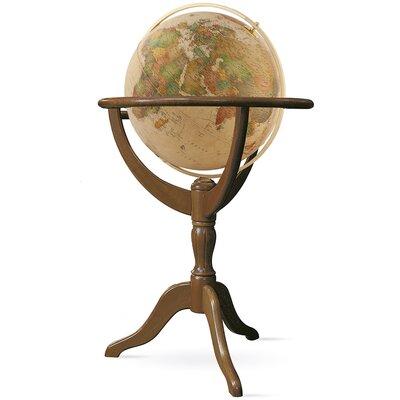 Decorative Globe Color: Brown/Antique DRBH1181 43407968