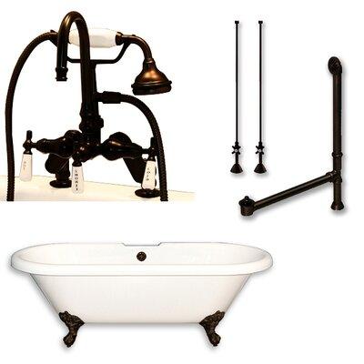 70 L x 30 W Bathtub Finish: Oil Rubbed Bronze