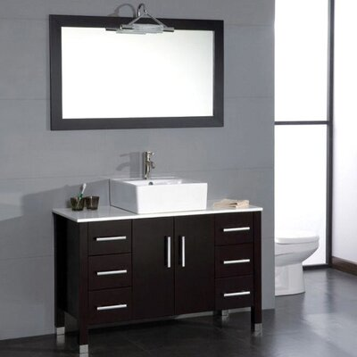 Jessa 48 Bathroom Vanity Set with Mirror