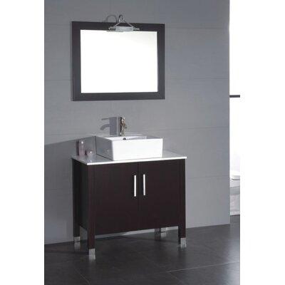 Jessa 36 Bathroom Vanity Set with Mirror