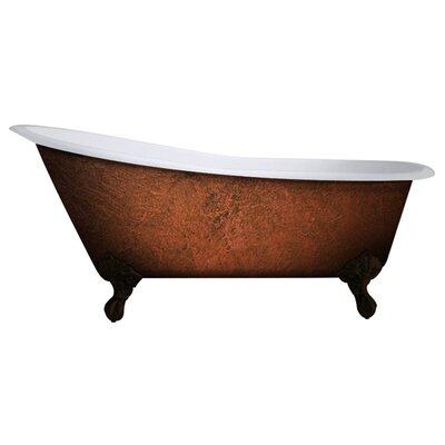 Cast Iron Clawfoot 61 x 30 Freestanding Soaking Bathtub