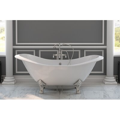 71 x 30 Clawfoot Bathtub Finish: Oil Rubbed Bronze