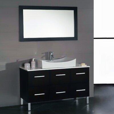 Linden 48 Single Bathroom Vanity Set with Mirror