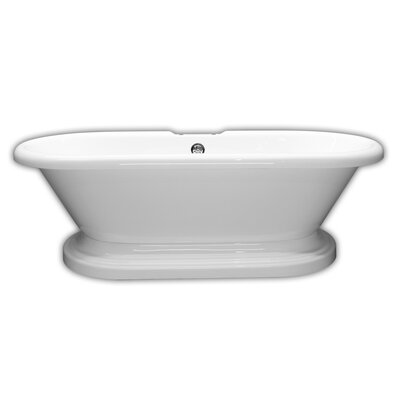 70 x 31 Freestanding Bathtub Faucet Mount: No