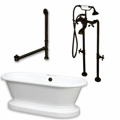 70 x 30 Freestanding Bathtub Finish: Oil Rubbed Bronze