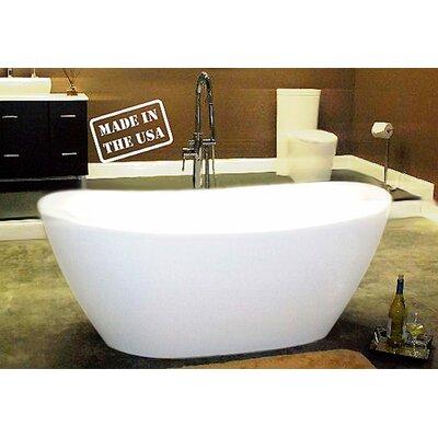 65 x 34 Freestanding Bathtub