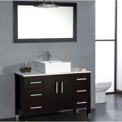 Magnolia 47 Single Bathroom Vanity Set with Mirror