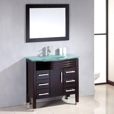 Sapphire 36 Single Bathroom Vanity Set with Mirror