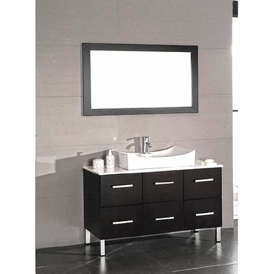 Linden 48 Bathroom Vanity Set with Mirror
