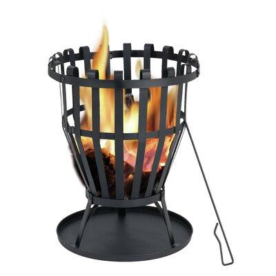 Feuerkorb Williston | Garten > Grill und Zubehör > Feürstellen | Black | Stahl - Holz | Tepro