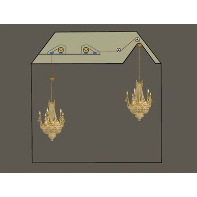 Chandelier Light Lift  - 200 lb. Capacity