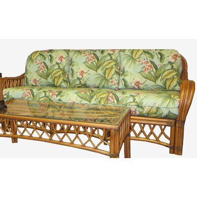 Montego Bay Sofa Upholstery: Fern Black