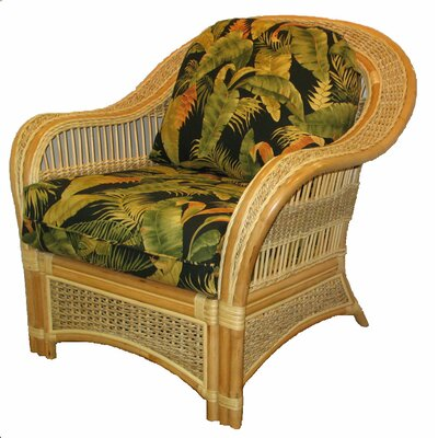 Keiper Barrel Chair Upholstery: Fern Black